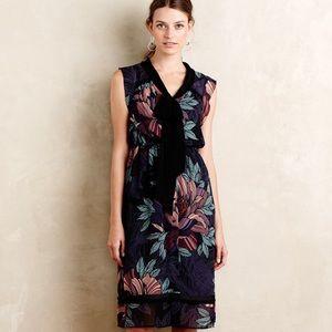 Anthropologie Maeve Bretin Midi Dress